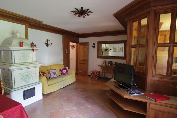 LARGE AND COMFY  UP TO 6 PEOPLE NEAR CORTINA :)) - Vodo di Cadore - Apartamento