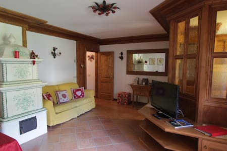 LARGE AND COMFY  UP TO 6 PEOPLE NEAR CORTINA :)) - Vodo di Cadore - Apartament