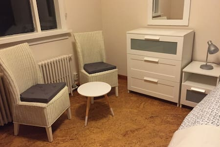 A  lovely room 3 km from Rvk center - Seltjarnarnes
