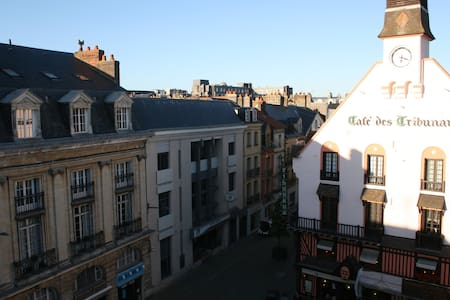 Recent duplex with roof terrace - Dieppe