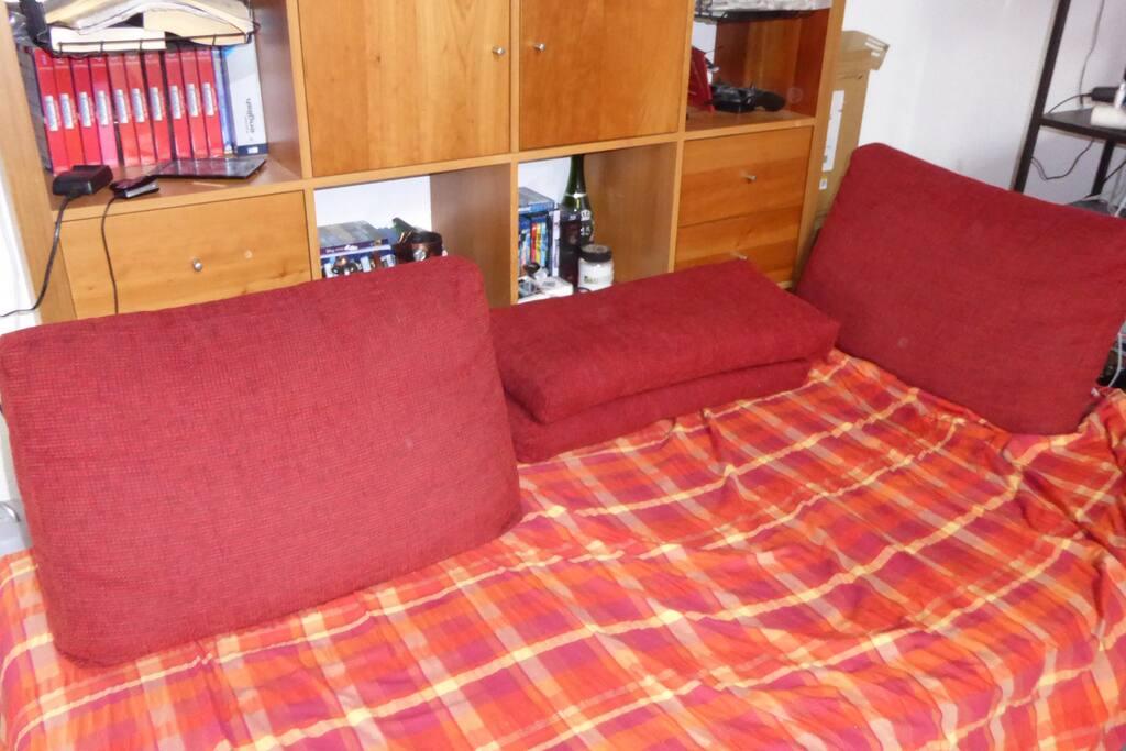 Il divano letto esensibile per due