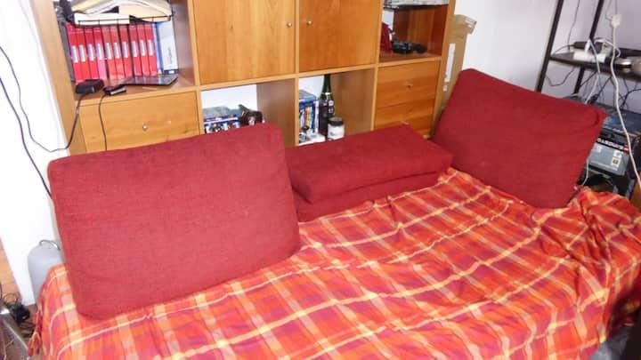 Posto letto in confortevole spazio comune