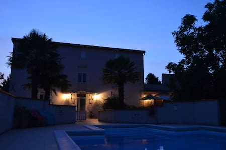 Holiday home w/ pool and big garden - Estillac - Talo