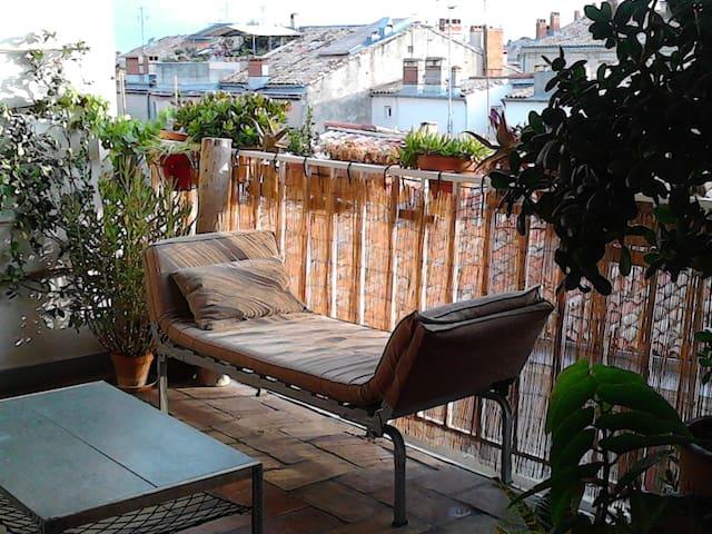 Duplex centre historique+terrasse - Montpellier - Loft
