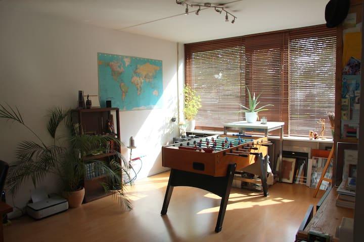 Nice spacious apartment - 2 guests - Utrecht - Apartamento