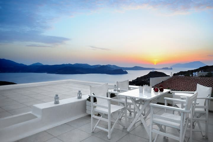 Family Villa, Amazing Sunset View
