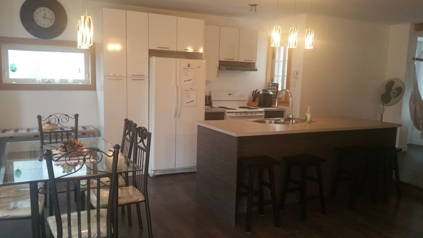 3 bdr appartment near attractions - Quebec