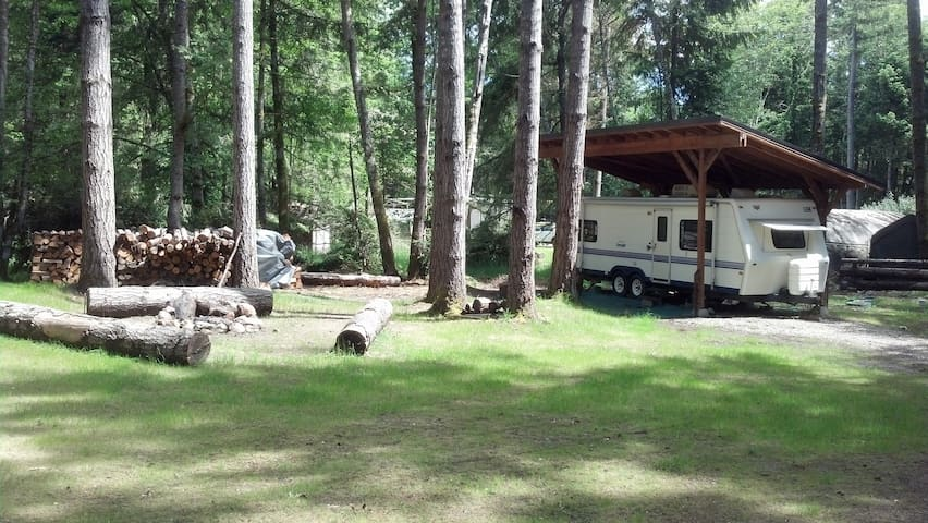 Private Island Camping. Puget Sound,  RV#1 - Lakebay