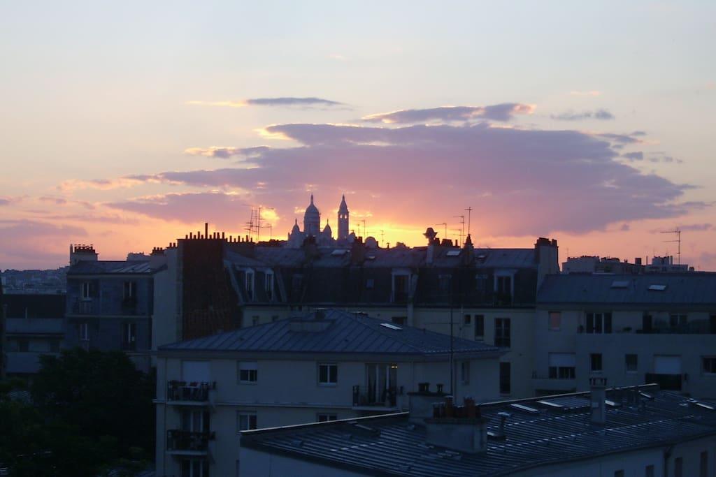 Appartement cosy avec belle vue sur paris appartements for Appartement atypique a louer ile de france