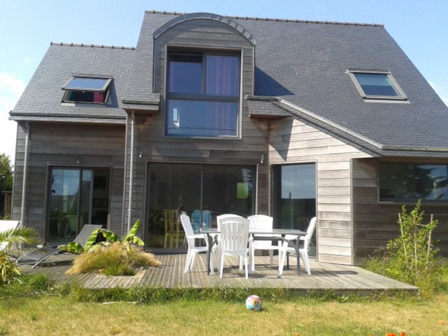 Maison en bois Finistere proche mer  Houses for Rent in  ~ Maison Bois Finistere