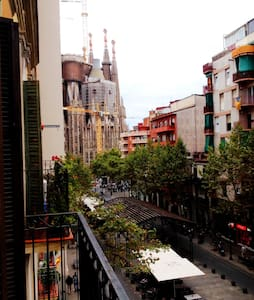 Lovely double room Sagrada Familia