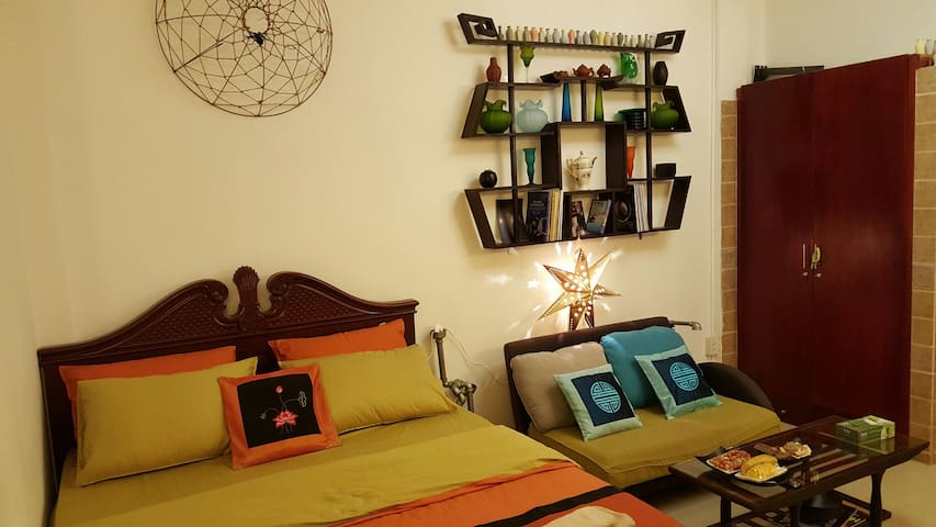 Spacious Apartment near Ben Thanh - Ho Chi Minh City - Apartment