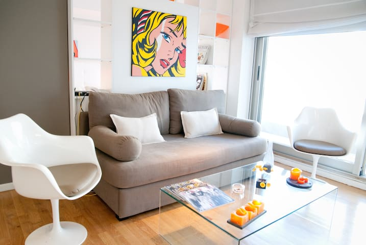 Funky & Stylish Apartment, Palermo