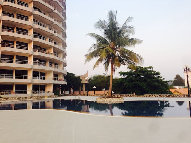 seaview appartment w swimmingpool - Tambon Taphong - Appartement