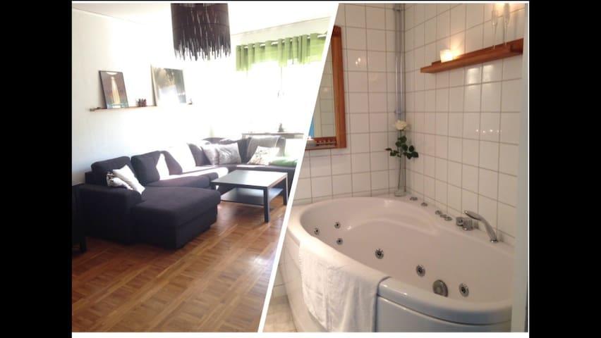 2:a i Bellevue med jacuzzi - Göteborg - Flat