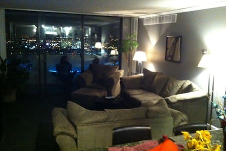 Executive Master Suite in downtown 2BR/2BA apt