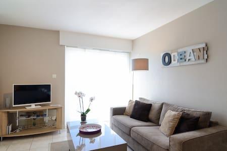 Bel appart de 33m² 50m de la plage + garage + Wifi - Quiberon - อพาร์ทเมนท์