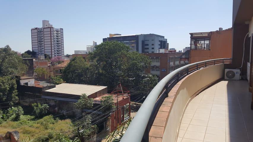 Hospedate en un acogedor espacio en Asunción