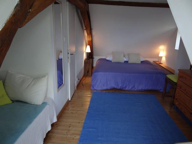 Moulin Géant (chambre nid d'aigle) - Rochefort-sur-Loire - Rumah