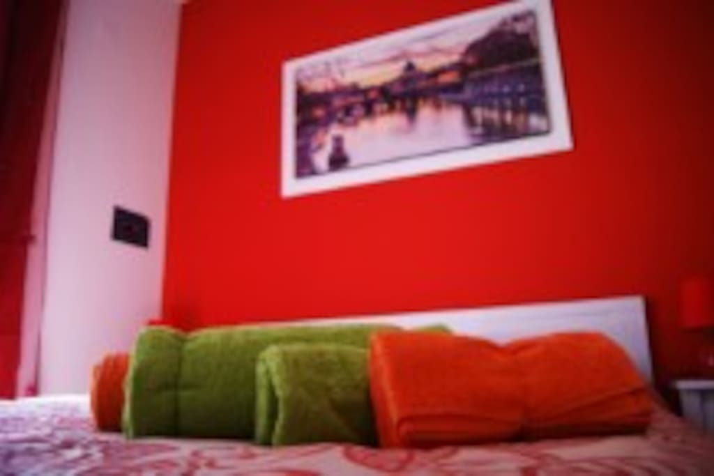 Ampia camera da letto