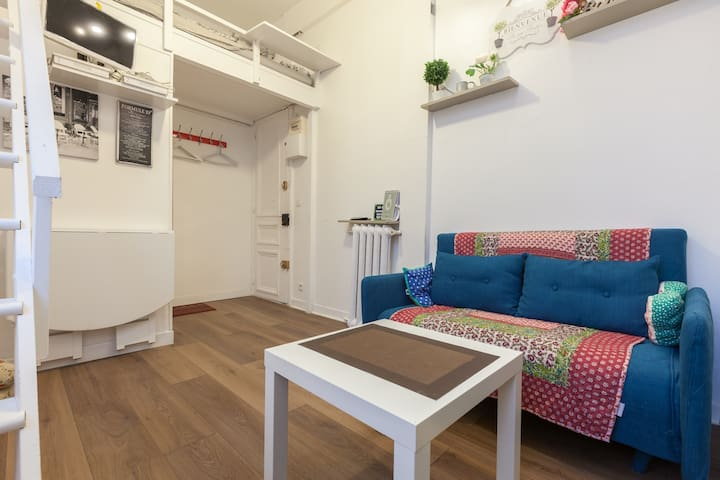 Charming Studio Paris 2 Montorgueil