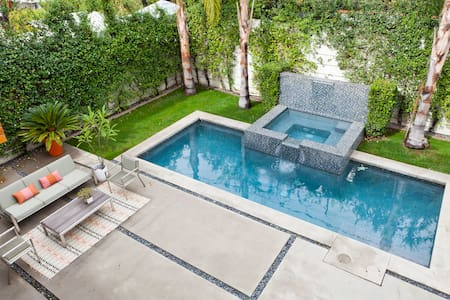 3br+guesthouse & pool in prime WeHo