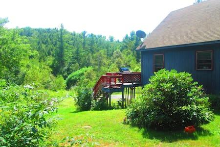 New!  Cozy room in country cabin - Sullivan