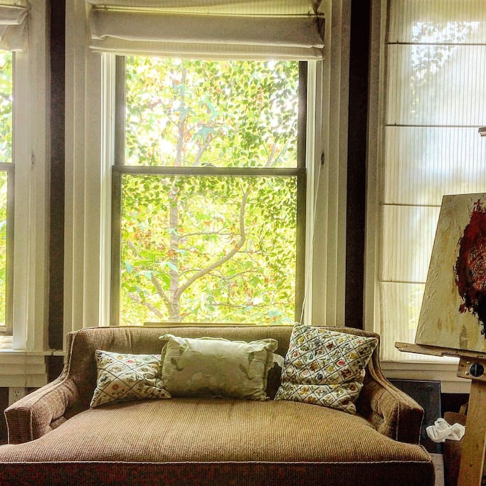 Large windows with inspiration every where