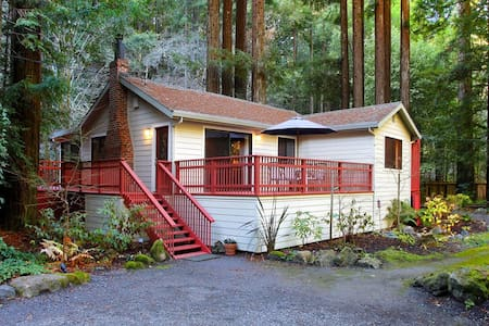 BOHEMIAN RHAPSODY Creek Access|Hot Tub|Fenced Yard - Occidental