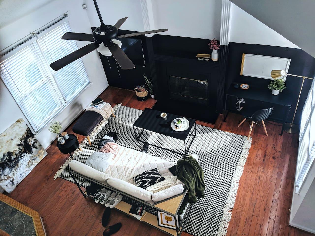 Stylish living room