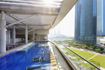 Central and Luxurious ~ MARINA BAY - Singapur - Pis