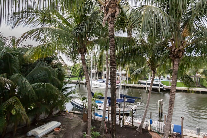 Biscayne Bay Waterfront Home