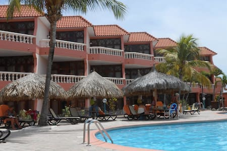 ocean/pool front with balcony - Oranjestad-West - Pis