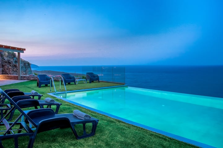 Anastasis Luxury Villa Andros With Heated Pool