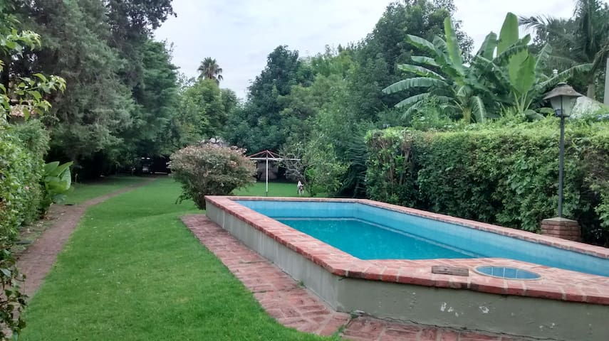 Maison de campagne, parc et jardins,le repos ideal - Gonnet - Casa