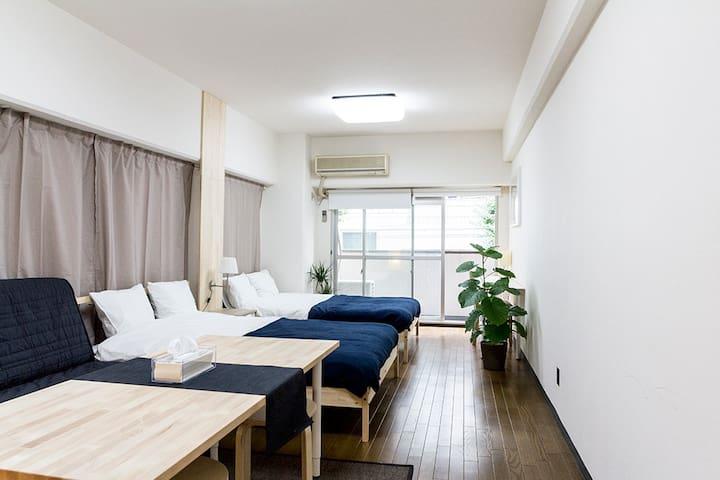Ginza/Tsukiji 12ppl 2 rooms 2 bath@ - Minato-ku - Daire