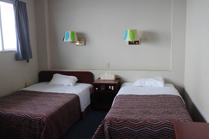 海辺のリゾートホテル。プライベートビーチあり