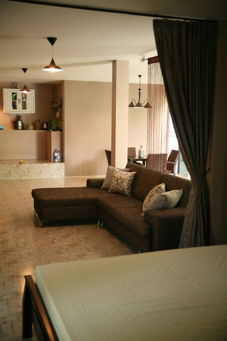 Living area downstairs