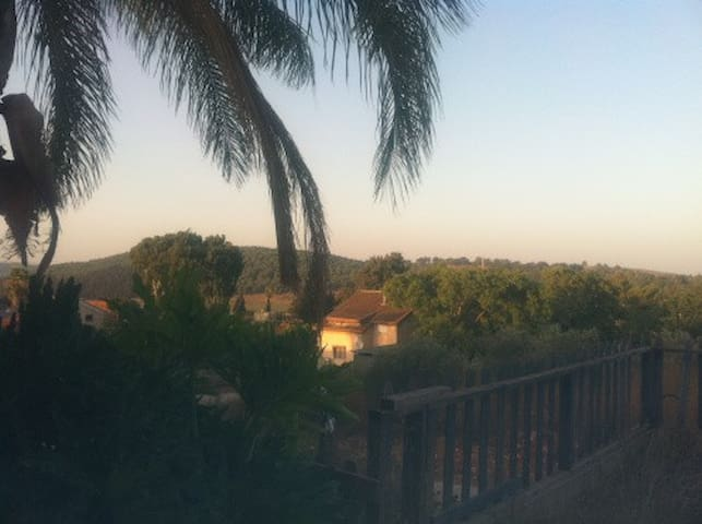 Galilee House with amazing view - Ilaniya - Casa
