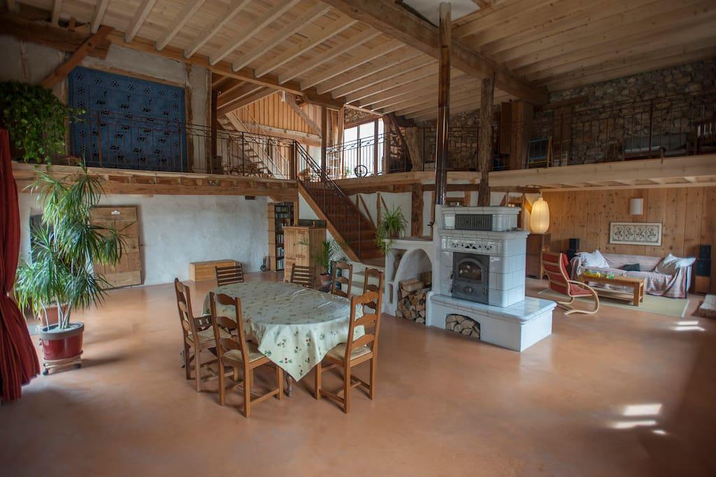 oasis de lao chambre de couple houses for rent in boulc rh ne alpes france. Black Bedroom Furniture Sets. Home Design Ideas