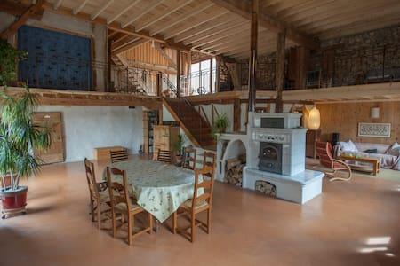 Oasis de Lao, chambre de couple - Boulc - House