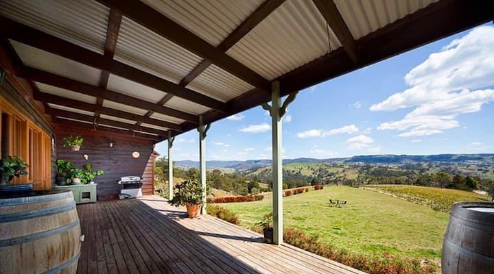 Hartley Organic Farm-views and animals galore