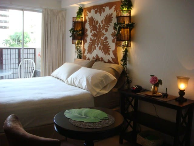 Cozy Studio close to the beach! - Honolulu - Wohnung