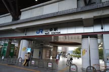 JR Nijo Station (walk about eight minutes)