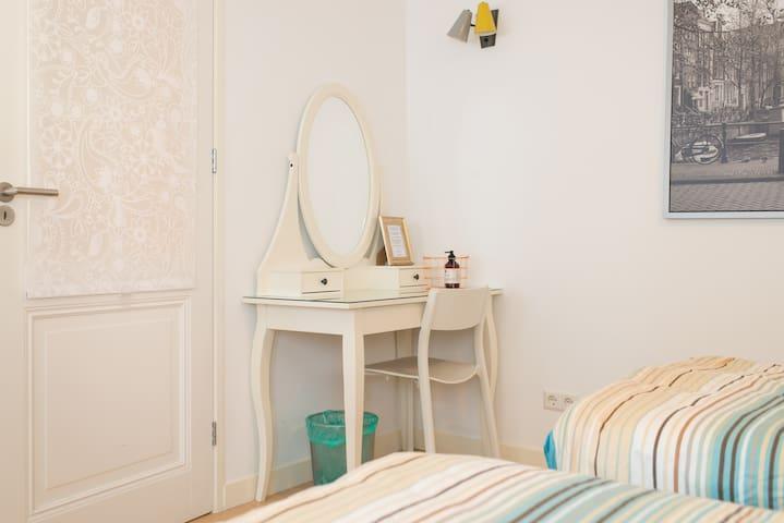 Clean Amsterdam apartment 'Este' - Amsterdam - Condominium