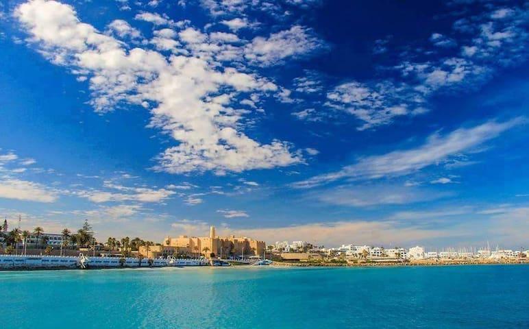 Appartement vue de mer panoramique - Menzel Fersi - Pis