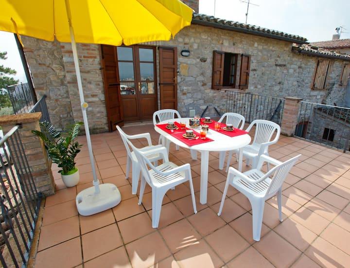 Holiday House2 Monte Castello Vibio