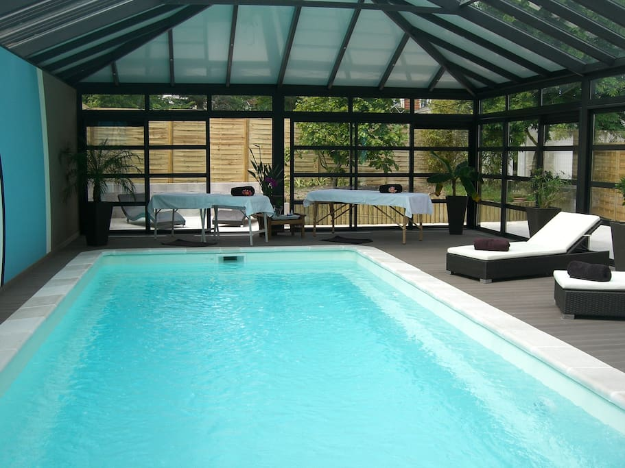 Chambre d 39 h te les nympheas bed and breakfasts for rent - Chambre d hote avec piscine nord pas de calais ...