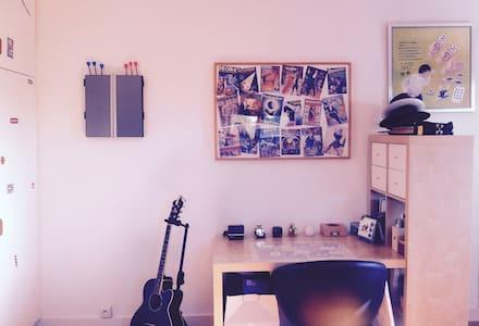 Bright & cosy bedroom w/ bathroom - Uccle - Talo