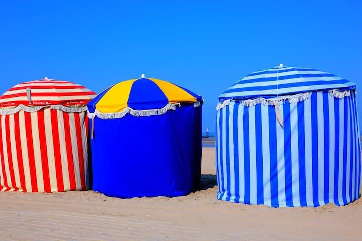 à cinq minutes de la plage - Trouville-sur-Mer - Apartemen